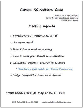 CKKG Agenda_April 2013