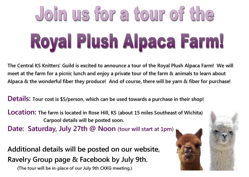Alpaca Tour Invite