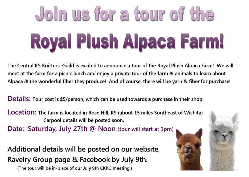 Alpaca Tour Invite