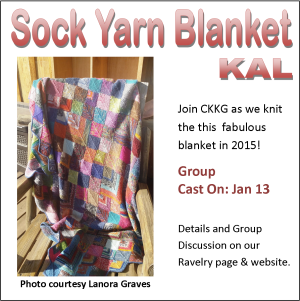Sock Yarn Blanket KAL image
